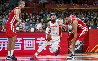 Coupe du monde de basketball : la Tunisie s'effondre en seconde période devant l'Espagne