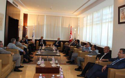 Présidentielle : Le candidat au 2e tour, Kaïs Saïed, reçu par l'Utica