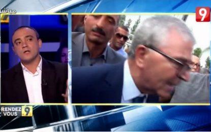 Le journaliste d'Attessia, Houcem Hamad, agressé au meeting d'Abdelkarim Zbidi à Monastir (vidéo)