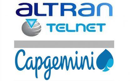 Le partenaire de Telnet, Groupe Altran, racheté par le français Capgemini