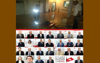 Inondations dans le Grand-Tunis : les candidats à la présidentielle ont TOUS raté l'occasion de se montrer… proches du peuple