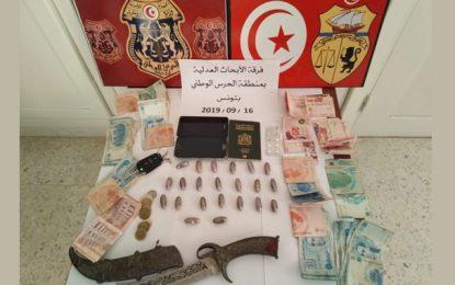 Agression au couteau d'un garde national à Tunis : Un dealer marocain arrêté