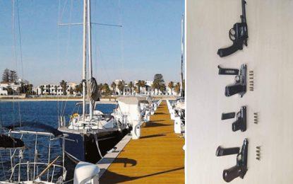 Pistolets saisis dans un yacht français à Bizerte : Report du procès au 7 novembre