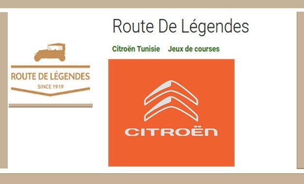 Le jeu passionnant de la «Route de Légendes» de Citroën Tunisie
