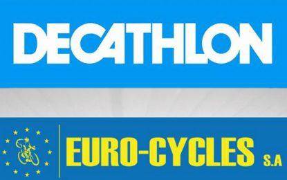 Euro-cycles signe avec le grand groupe français Decathlon