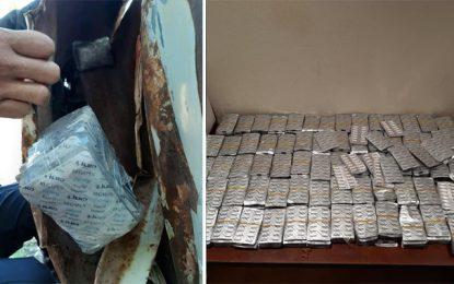 Tunisie : En 15 jours, la douane a saisi 93.000 pilules de drogue !
