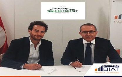 La Fondation Biat pour la Jeunesse signe un partenariat avec Tunisian Campers