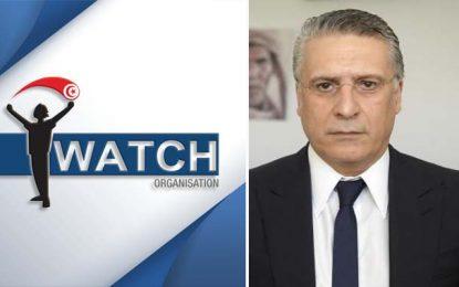 Affaire Karoui : I Watch appelle à respecter l'indépendance du pouvoir judiciaire et le choix des électeurs