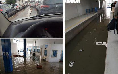 Inondations, embouteillages et gabegie à Tunis à cause des fortes averses