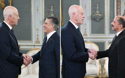 Après Ghannouchi, le président de la république Saïed reçoit Karoui puis Abbou