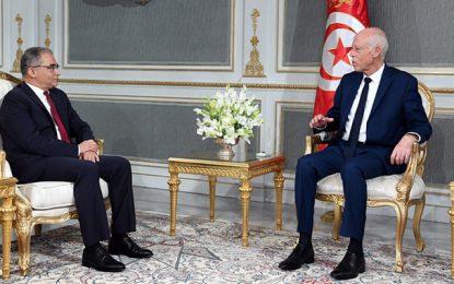 Le président de la république Kaïs Saïed reçoit Mohsen Marzouk au Palais de Carthage (Vidéo)