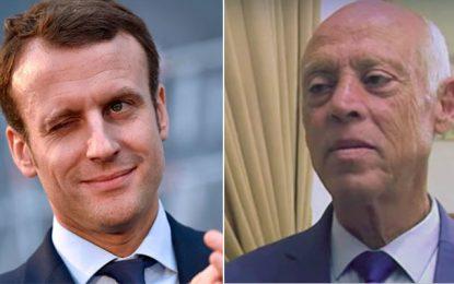 Emmanuel Macron félicite Kaïs Saïed et salue «la mobilisation démocratique des Tunisiens»