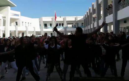 Un «Flash mob» au collège pilote de Nabeul fait le buz sur la toile (vidéo)