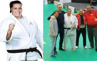 La judokate tunisienne Nihel Cheikhrouhou décroche le bronze au Grand Chelem d'Abou Dhabi