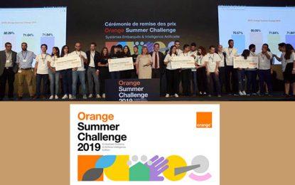 Orange Summer Challenge 2019: Systèmes embarqués et intelligence artificielle au cœur de l'innovation numérique