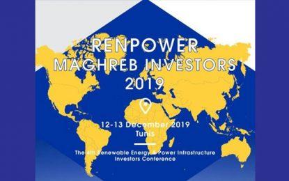 Energie : la conférence Renpower Maghreb Investors 2019 aura lieu les 12 et 13 décembre 2019 à Tunis
