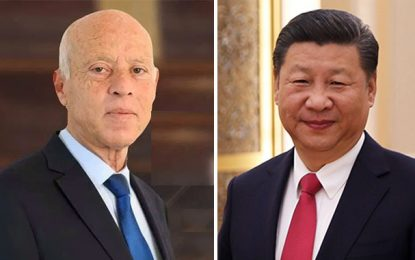 Chine-Tunisie : Félicitations du président Jinping au président Saïed