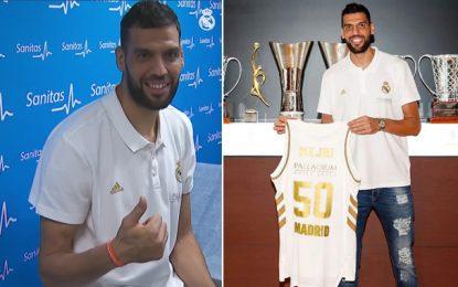 Basketball : L'international tunisien Salah Mejri de retour au Real Madrid (vidéo)
