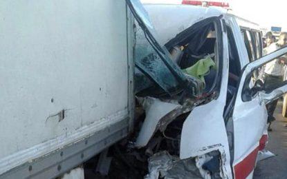 Sousse : Cinq blessés dans un accident de la route à Sidi Bouali