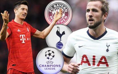 Tottenham-Bayern en live streaming : LDC 2019-2020
