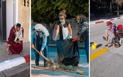 Tunisie : Les plus belles photos de la campagne nationale de propreté #Nadhef_bledek