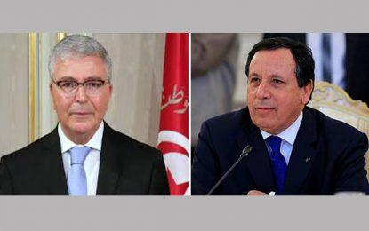 Remaniement du gouvernement : Zbidi et Jhinaoui démis de leurs fonctions