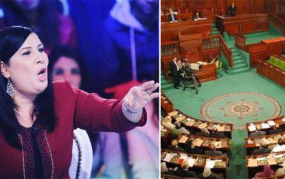 Abir Moussi s'oppose à la prestation de serment collective : «L'Assemblée n'est pas un kottab»