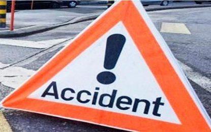 Regueb : Un accident de la route fait un mort et 5 blessés