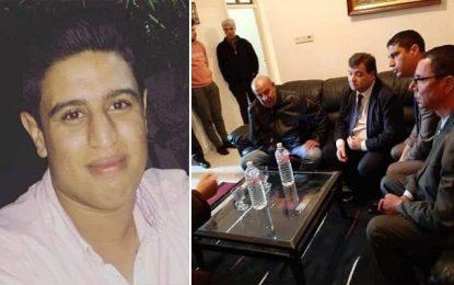 René Trabelsi se rend chez les parents d'Adam Boulifa pour leur présenter ses condoléances (Vidéo)