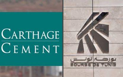 Bourse de Tunis : Carthage Cement fera une communication financière le 24 janvier 2020