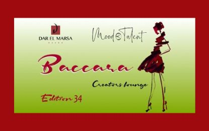 Baccara à Dar El Marsa : Mood Talent expose de nouvelles collections
