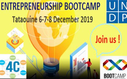 Entrepreneurship Bootcamp à Tataouine, du 6 au 8 décembre 2019