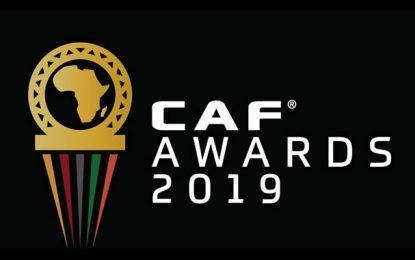 CAF Awards 2019 : les Tunisiens Khenissi, Sassi, Badri, Maaloul, Chaabani et Benzarti nominés
