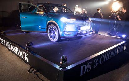 DS Automobiles Tunisie révèle en avant-première DS 3 Crossback lors du Black Dress