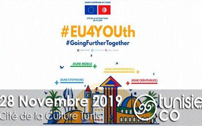 #EU4YOUth : Rencontre Union européenne – Jeunesse tunisienne, le 28 novembre 2019, à la Cité de la culture de Tunis