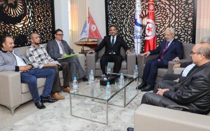 Formation du prochain gouvernement : Dghij, Jaouadi et Makhlouf reçus par Ennahdha (Photos)