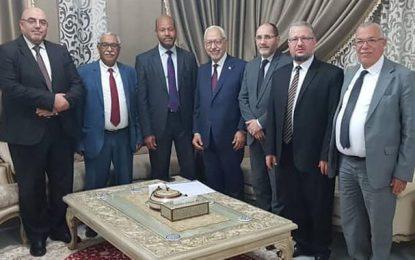 Ghannouchi reçoit des dirigeants du MSP, branche algérienne des Frères musulmans (Photos)