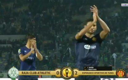 Ligue des Champions africaine : L'Espérance de Tunis remporte son 1er match contre le Raja Casablanca