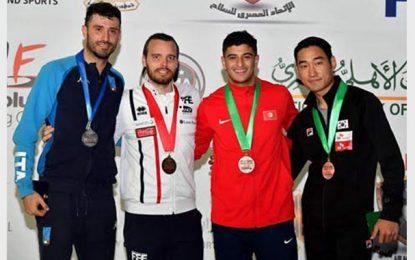 Le Tunisien Fares Ferjani médaillé de bronze en Coupe du monde d'escrime au Caire