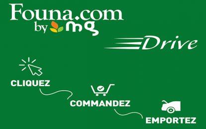 Founa.com, le 1er supermarché en ligne de Tunisie lance son 1er service Drive