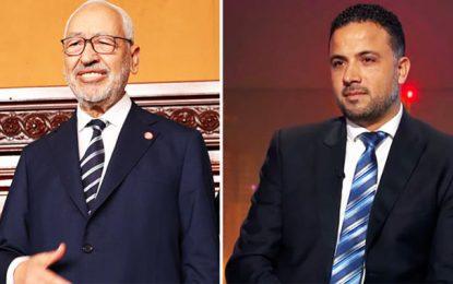 Makhlouf : Ghannouchi «plaisantait» quand il disait qu'Ennahdha se retirerait du gouvernement si Qalb Tounes en faisait partie