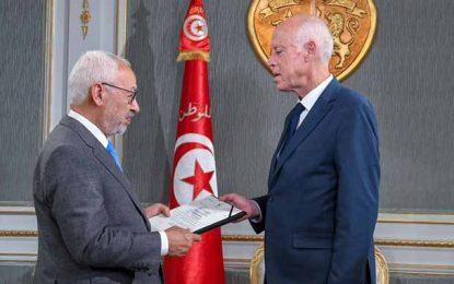 Présidence du gouvernement : Ghannouchi remet à Saïed le nom du candidat