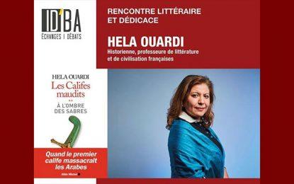 Hela Ouardi en tournée en Tunisie pour présenter le 2e volume des ''Califes Maudits''