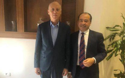 Hichem Jouaber témoigne de sa rencontre «marquante» avec Kaïs Saïed