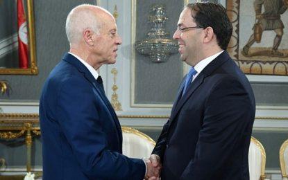 Diplomatie: Plus qu'une entente de circonstance entre Kaïs Saïed et Youssef Chahed…