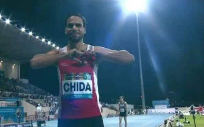 Farhat Chida décroche le bronze aux Mondiaux para-athlétiques