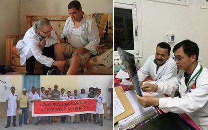 Santé: Arrivée à Tunis de la nouvelle relève médicale chinoise