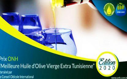 L'ONH lance la 3e édition du Prix de la meilleure huile d'olive vierge extra