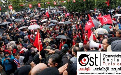 Tunisie : les mouvements sociaux se sont intensifiés en octobre 2019