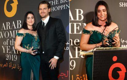 Londres : Ons Jabeur sacrée meilleure athlète arabe féminine de l'année 2019 (Photos)